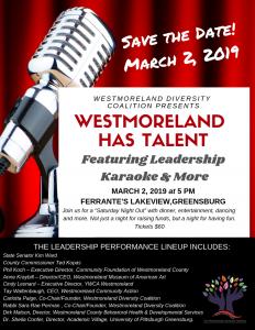 Westmoreland Has Talent flyer
