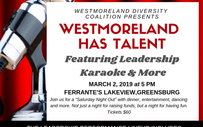 Westmoreland Has Talent flyer